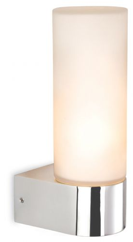 Firstlight 2326CH Chrome with Opal Glass Reno Single Wall
